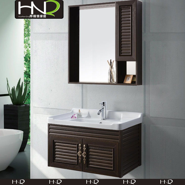 Used wall Mounted Bathroom Cabinets with double sink vanity For Modern Furniture