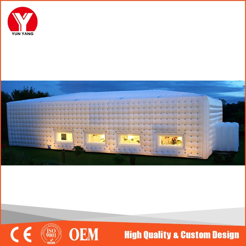 White inflatable tent/custom inflatable party tent/wedding tent