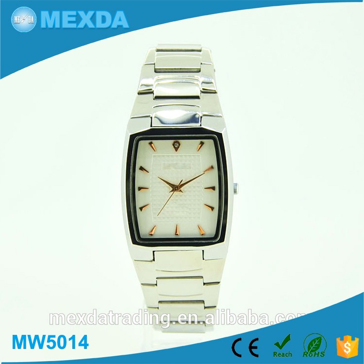 Newest japan movt quartz watch stainless steel bezel vintage quartz watch