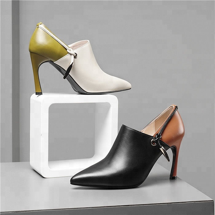 Classic Office Pointed Lady Dress Sexy High Shoes Toe Stiletto Heels Pumps Women dqwCRndf