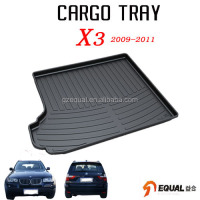 For BMW X3 2009-2013 trunk mat water proof trunk tray 3D car mar