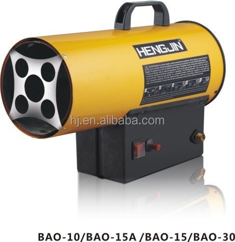 10kw Portable gas heaters