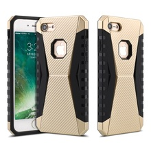 Military Grade shockproof mobile phone case for iphone 7 plus