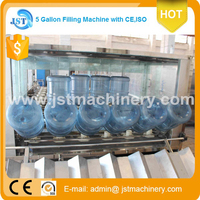 For Angola QGF-120 factory Energy three in one for 120 bph in Algeria 5 gallon water filling machinery/plant/production line