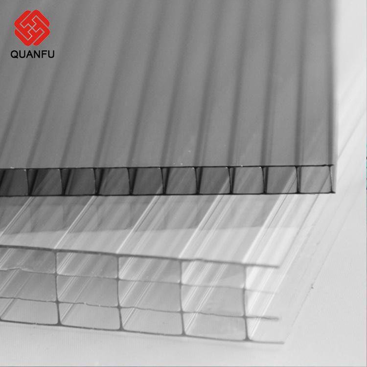 Polycarbonate Acrylic Shielding Windows Perforated Metal Roofing Sheet Greenhouse With 10-Year Warranty