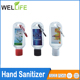 Free sample antibacteria alcohol hand washing gel without water