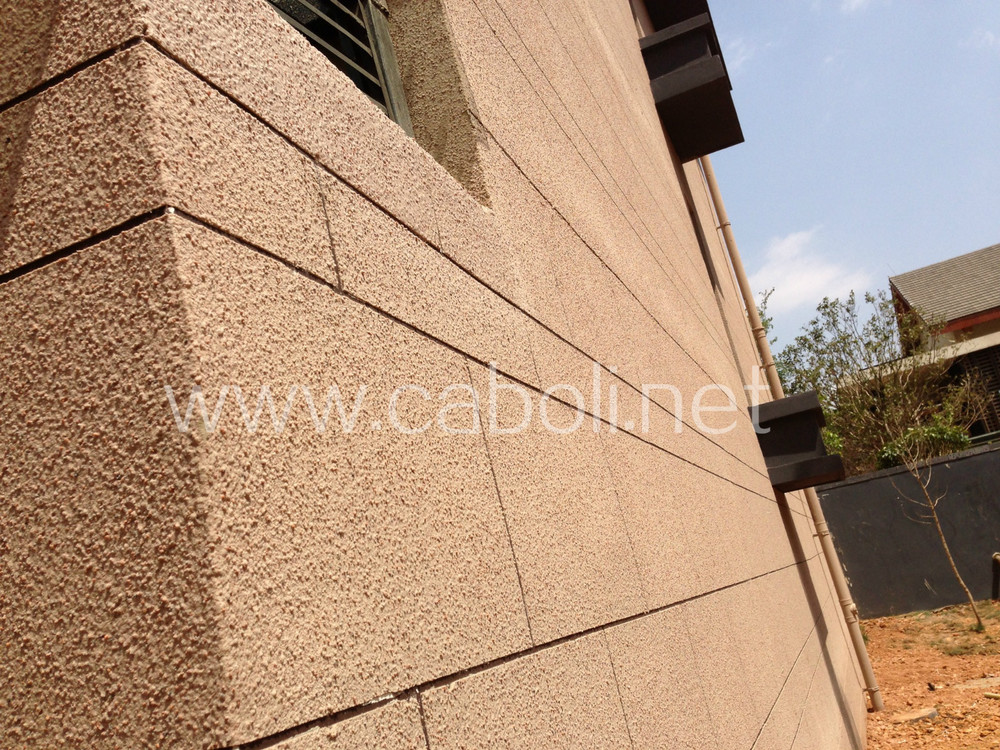 Exterior Wall Real Stone Texture Effect Spray Paint