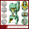 metal plate round disc punching and stamping press