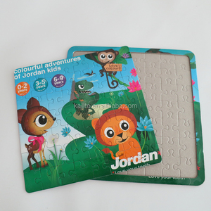 Paper or magnet Jigsaw Puzzle for kids