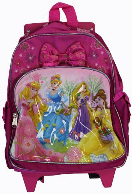 010749e320e Assorted Disney Princess Toddler Rolling Backpack - Princess Wheeled  Backpack (Assorted)
