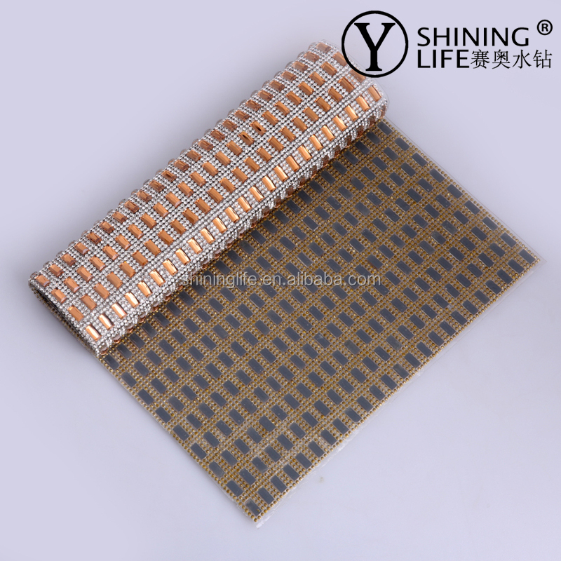 rhinestone sheet Directly produce from factory ,different shape and pattern