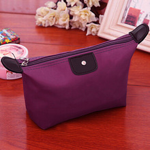 Hot Sale Lady MakeUp Pouch Cosmetic Make Up Bag Clutch Toiletries Travel Kit Jewelry Organizer Casual Purse 7 Colors