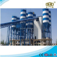 Engineers available to service overseas Zhengzhou Jinlong movable hopper concrete mixing plant