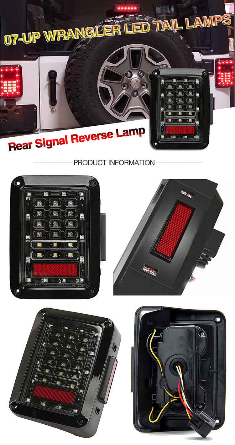Super Cheap Stop Licence Truck Jeep Trailer Lightswholesale Yj Tj Wrangler Reverse Lights Usb2b 01