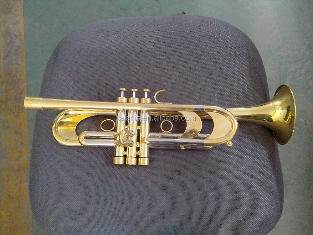 Professional Bb key passivation heavy model trumpet for sale
