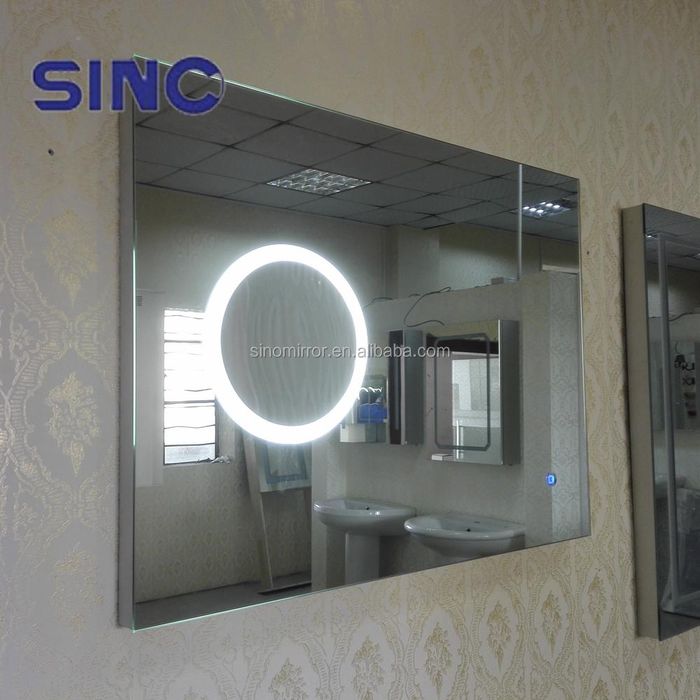Ce ip44 espejo de aumento con luz led para ba o espejos de for Espejos de bano con aumento