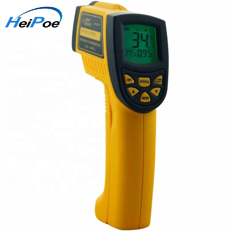 Smart Sensor Non-contact Digital IR infrared thermometer Laser Infrared Thermometer AR862A+ -50~900C - KingCare | KingCare.net