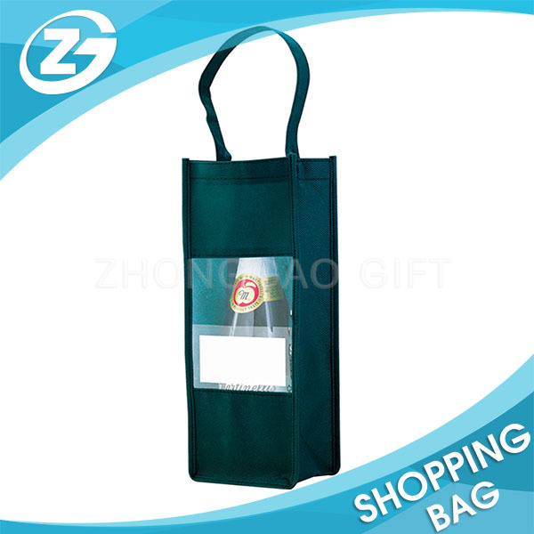 OEM ODM Factory Cheap Reusable Bottle Holder Wine Tote Bag