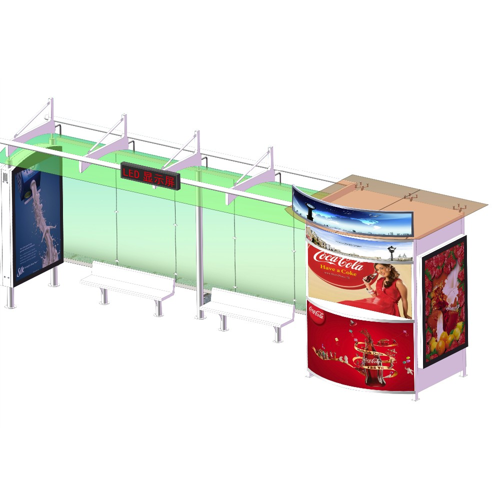 product-Competitive price China manufacture bus stop station-YEROO-img-7