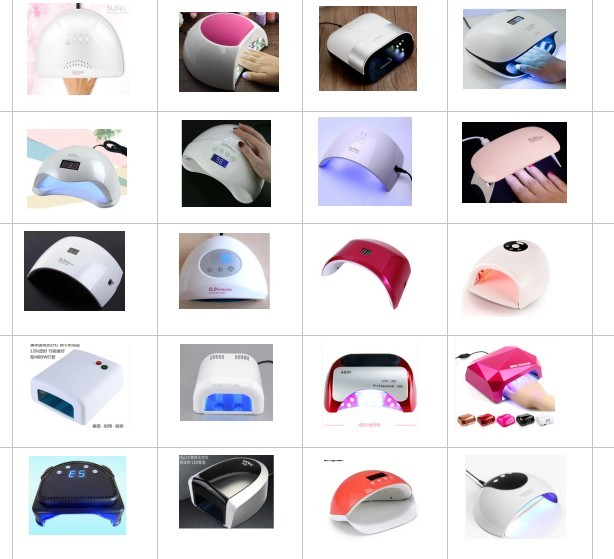 China factory nail beauty products salon high quality sunx5 plus  uv light 80 watts LED nail gel dryer