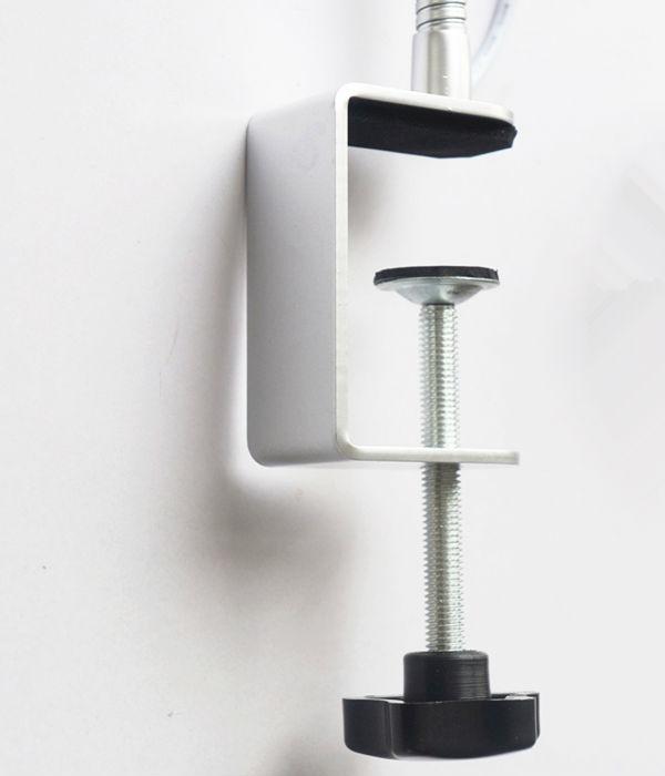 4 w bras long conduit spot lumi re r glable bras lampe spot avec pince lampes fonctionnantes de. Black Bedroom Furniture Sets. Home Design Ideas