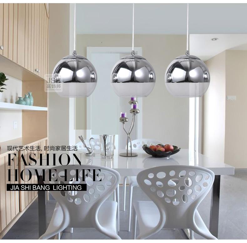 3 leuchten neue moderne f hrte weinglas kristall silber glas lampenschirm. Black Bedroom Furniture Sets. Home Design Ideas