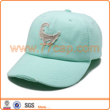 Light Green Color Washed Cheap 6 Panel Snapback Wholesale Baseball Sport Caps And Hats For Men