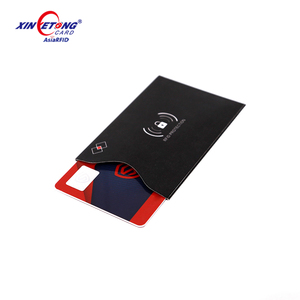 Anti Scan Blocker Sleeves/RFID Blocking data Theft Protection secure credit card sleeves