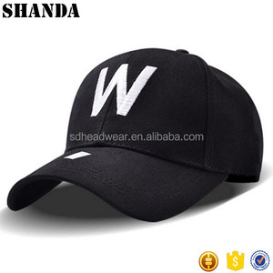 Promotional black cotton logo embroidery custom design baseball caps men