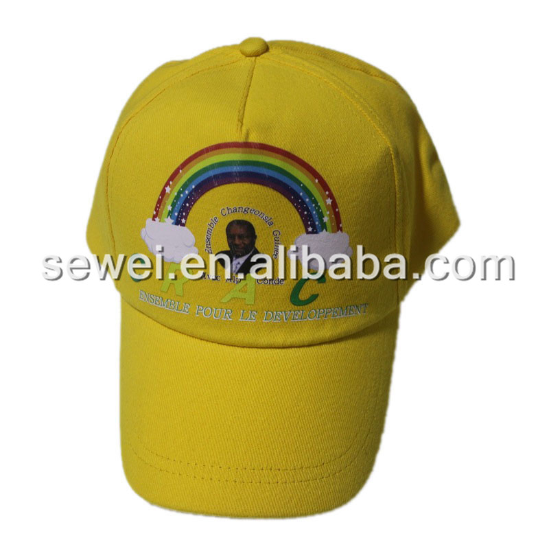 promotional Custom printing logo cotton baseball cap Hot Selling