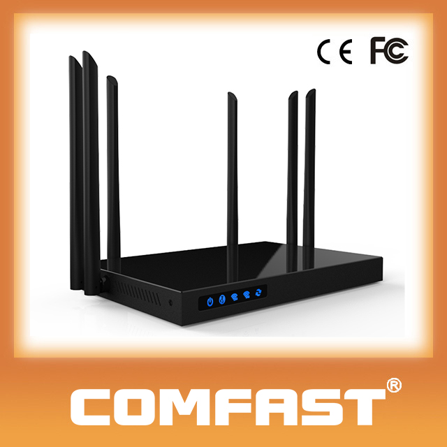 COMFAST 1750Mbps Wireless AC Router Gigabit Lan Wan Ports Wireless Router With Serial Port
