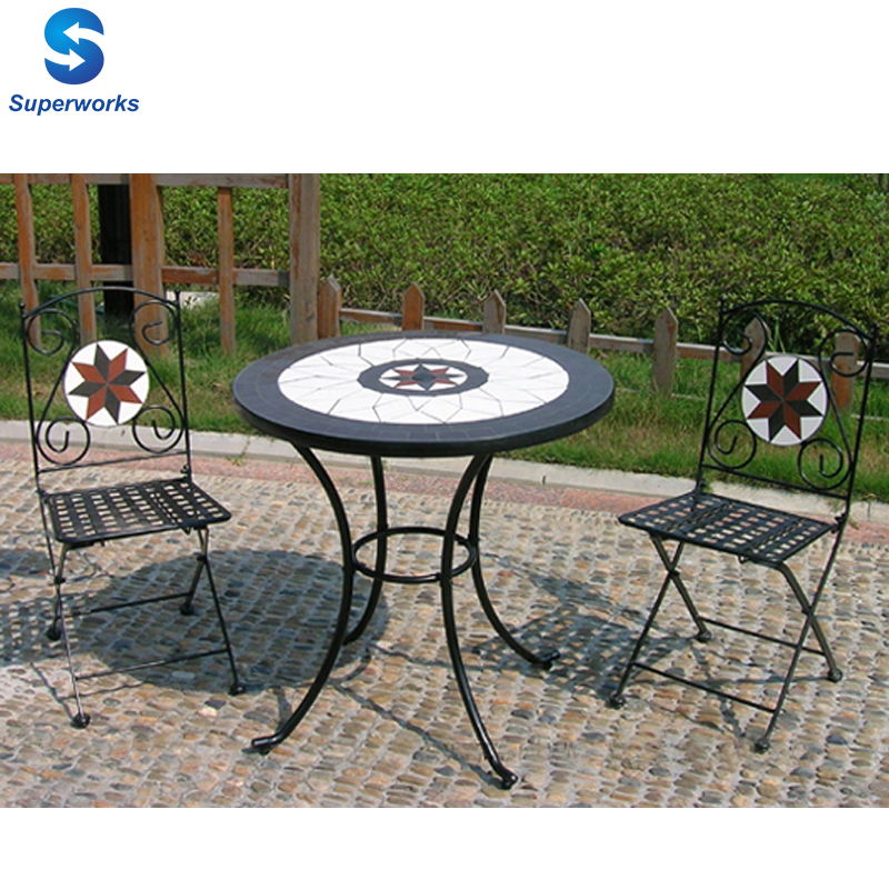 Mosaic Bistro Table And Chair, Mosaic Bistro Table And Chair Suppliers And  Manufacturers At Alibaba.com