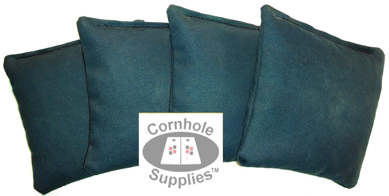 Navy Blue Cornhole Bags (Set of 4) By Cornhole Supplies