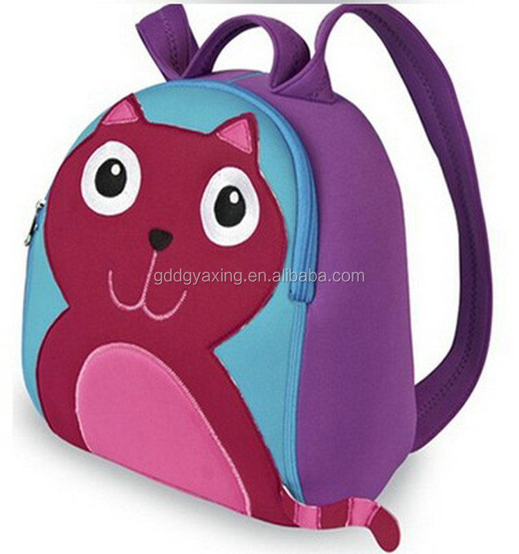 Good quality neoprene backpack printed FOX