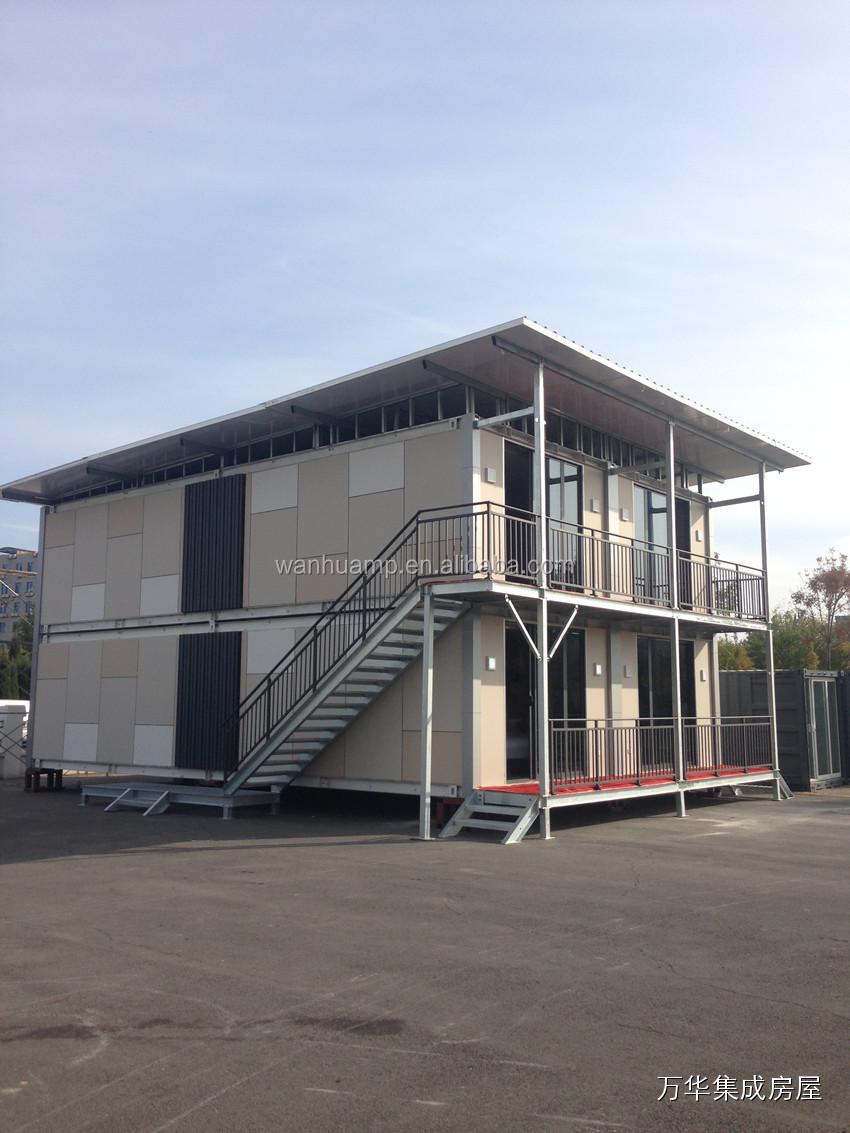 Casa pr 233 moldada de madeira casa pr 233 moldada - Casa Prefabricate Wanhua Prefinished Integrado Modular Pr Fabricada Casa Do