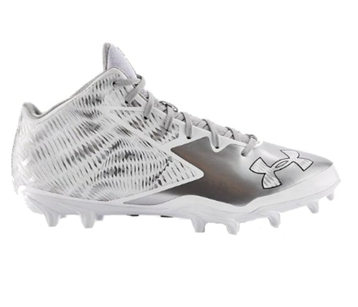 sale retailer 496a7 f9d9e Get Quotations · Under Armour UA Nitro Mid D Men s Football Cleats