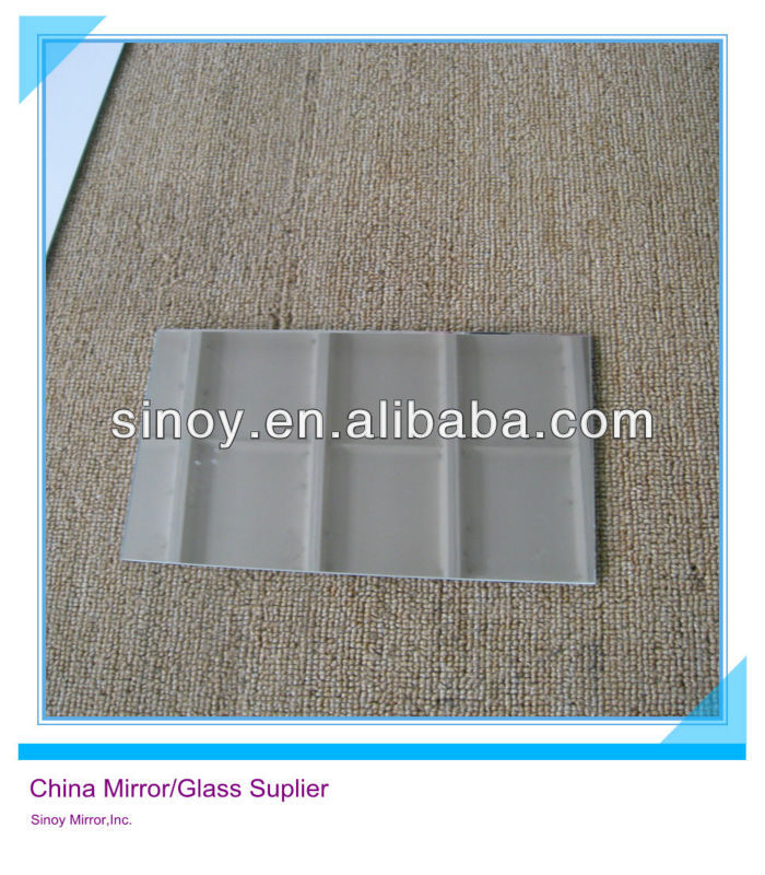 Qing Dao 3.2mm 1830*2440mm Flat Solar Anti Reflective Mirror Glass