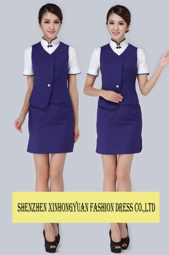 Air Hostess Uniform 117