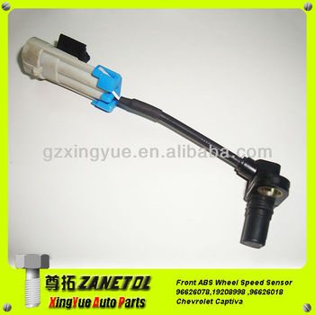 Front Abs Wheel Speed Sensor Electronic Brake Control Sensor Kit 96626078 19208998 96626018for Chevrolet Captiva Buy Abs Wheel Sensor For