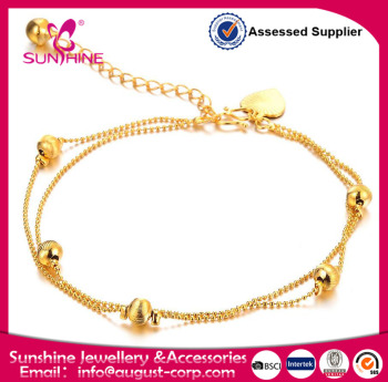 sgs opensky market bracelet product gold anklet plated cuban on by link buy international generous ankle