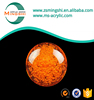 Transparent large colored clear hollow plastic sphere