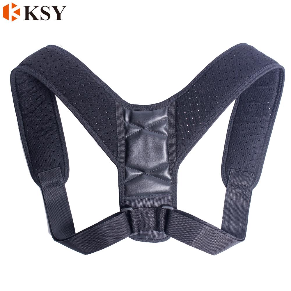 Fascia elastica di Supporto lombare Regolabile Postura Sostegno per la Schiena bar Corrector Brace Fascia Della Spalla Cintura
