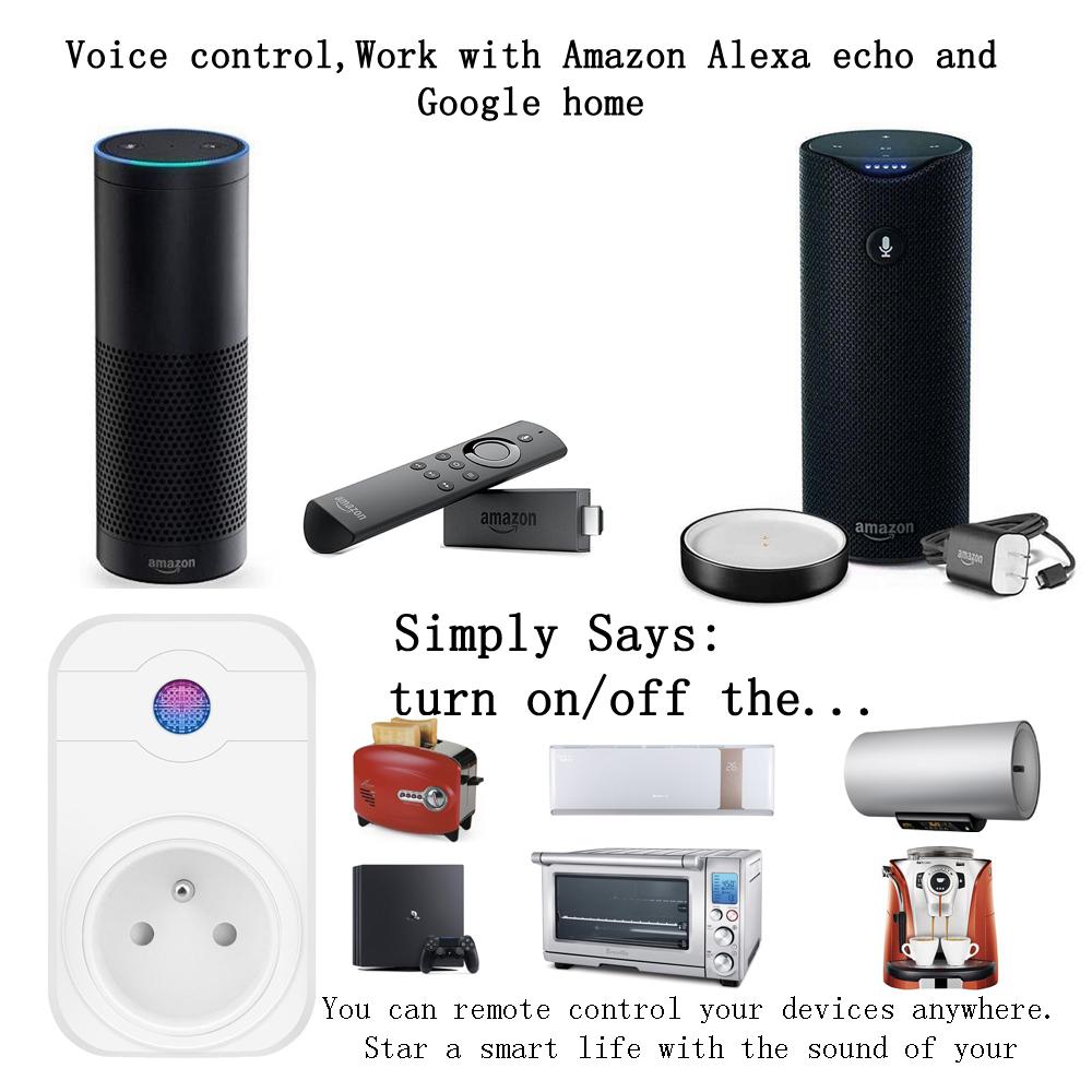 Wifi Smart Plug 5ghz - Buy Wifi Outlet Plug,Smart Plug,Wifi Smart Power  Plug Product on Alibaba com