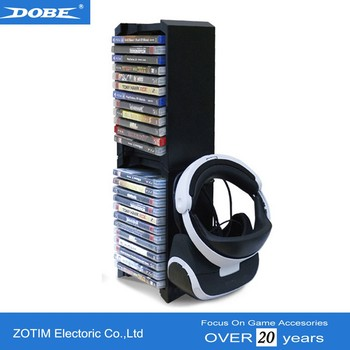 ps vr holder and double games cd stand for ps4 pro slim xbox