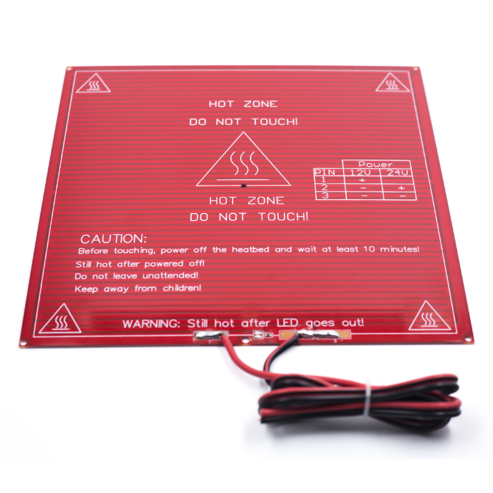 Active Components Honest Reprap Mendel Pcb Heatbed Mk2b With Cable For Mendel 3d Printer Hot Bed Big Clearance Sale