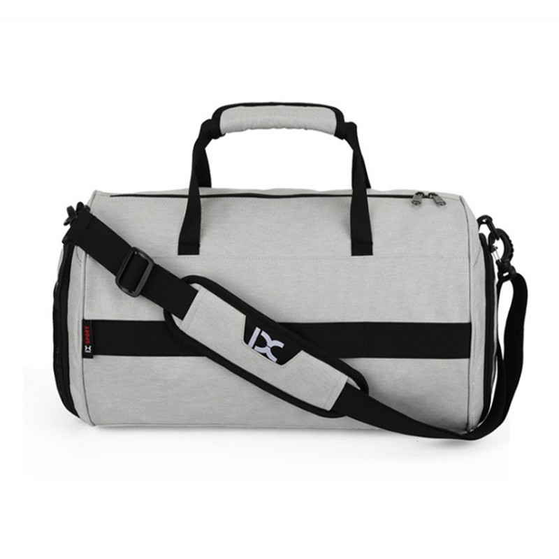 Oempromo promotion foldable young sports fashion nylon travel bag for men