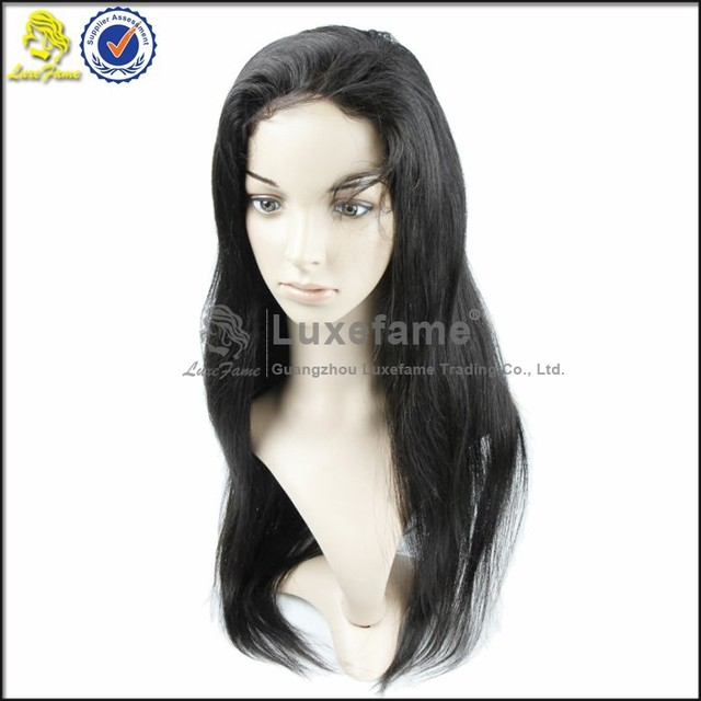 Natural Human Hair Wigs with baby hair for Black Women 100 brazilian virgin hair full lace wigs