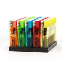 disposable cheap plastic smoking lighters electronic slim cigarette lighter