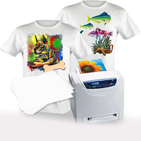 high quality A3 A4 size laser Dark and light t-shirt transfer paper wholesale