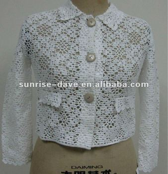 Ladys Crochet Bolero Pattern Fall Coat Buy Crochet Bolero Pattern